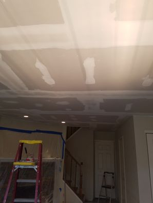 New Ceiling Drywall Installation in North Arlington, NJ (1)
