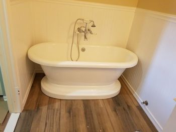 Bathroom renovation by J & A Construction NJ Inc