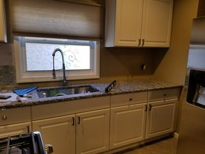 Kitchen Renovations in West New York, NJ Before & After Kitchen Back Splash Installation (3)