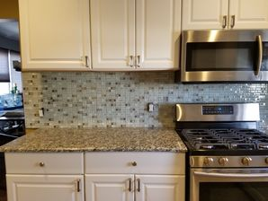 Kitchen Renovations in West New York, NJ Before & After Kitchen Back Splash Installation (2)
