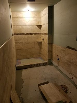 Tile Installation for Bathroom Remodel in Hoboken, NJ (1)