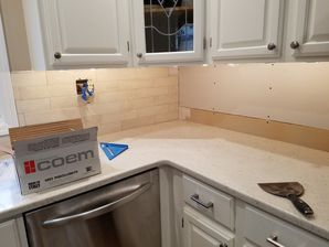 Before & After Tile Installation / Kitchen Renovation in Union City, NJ (1)