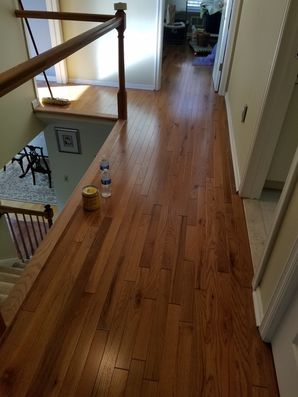Installed New Hardwood Floors in North Bergen, NJ (3)