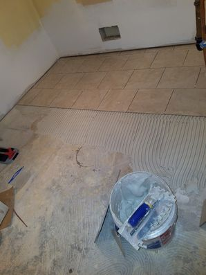 Tile Floor Installation in North Bergen, NJ (1)