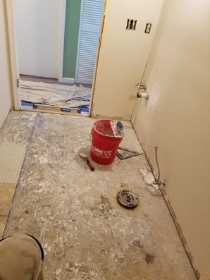 In the process of a Bathroom Remodel in Jersey City, NJ (1)