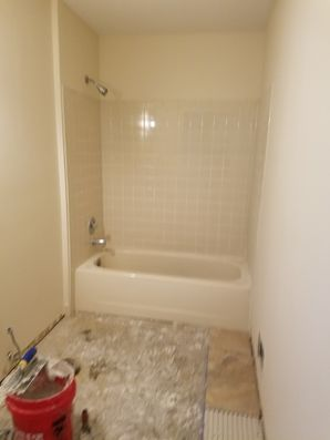 In the process of a Bathroom Remodel in Jersey City, NJ (2)