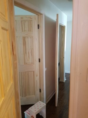 Interior Door Staining in Guttenberg, NJ (1)