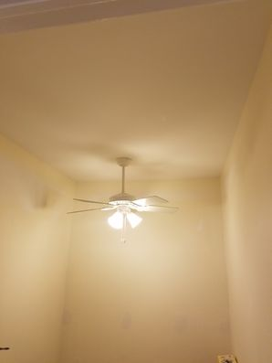 Before & After Ceiling Fan Installation in Guttenberg, NJ (2)