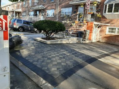 Before & After Paver Driveway Installation in Jersey City, NJ (2)