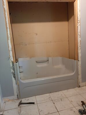 Bathroom remodel in Guttenberg, NJ (2)