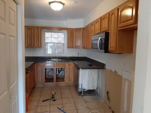 Before & After Kitchen Remodel in Guttenburg, NJ (1)