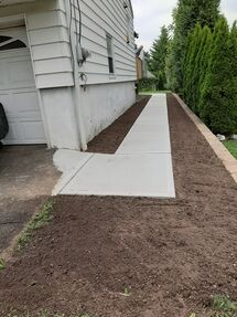 Before & After Sidewalk Installation in Guttenberg, NJ (2)