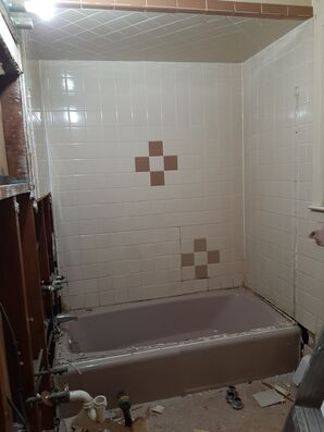 Before & After Bathroom Remodel in Guttenburg, NJ (1)