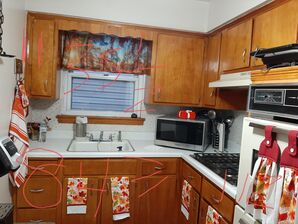 Before & After Kitchen Cabinet Painting in Jersey City, NJ (1)