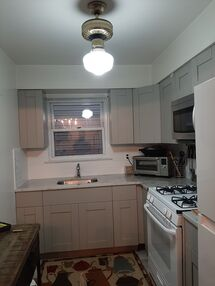 Before & After Kitchen Cabinet Painting in Jersey City, NJ (3)